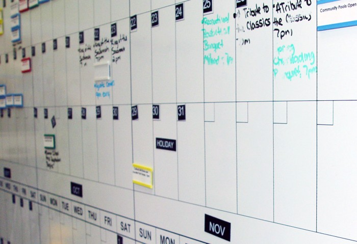 The Open Book Project: Putting Together a Marketing Calendar